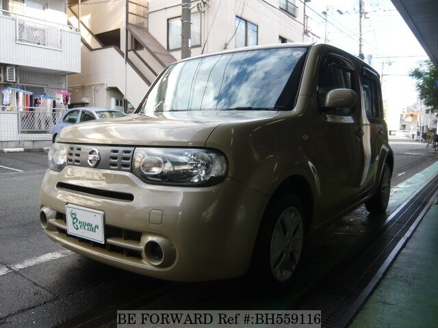 Used 2010 NISSAN CUBE BH559116 for Sale