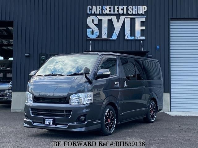 Used 2011 TOYOTA HIACE VAN BH559138 for Sale