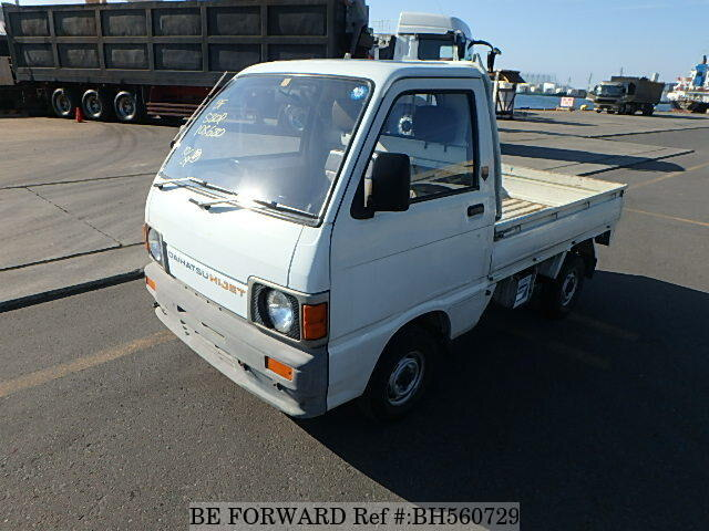 Used 1988 DAIHATSU HIJET TRUCK BH560729 for Sale
