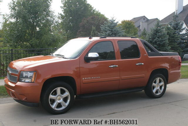 Used 2008 CHEVROLET AVALANCHE BH562031 for Sale
