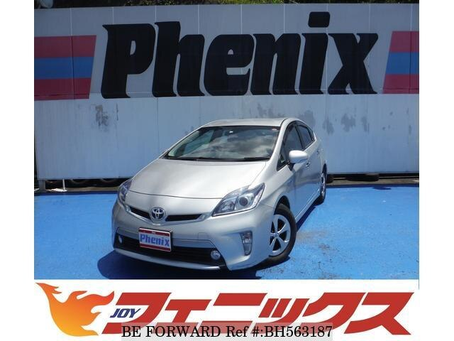 Used 2012 TOYOTA PRIUS PHV BH563187 for Sale