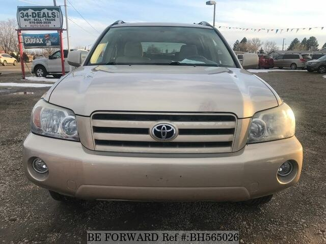 Used 2006 TOYOTA HIGHLANDER BH565026 for Sale