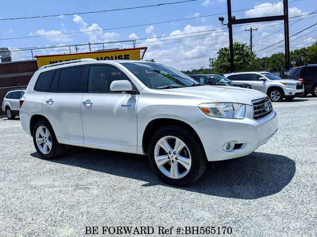 Used 2008 TOYOTA HIGHLANDER BH565170 for Sale