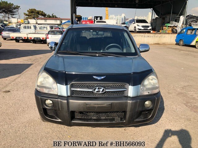Used 2004 HYUNDAI TUCSON BH566093 for Sale