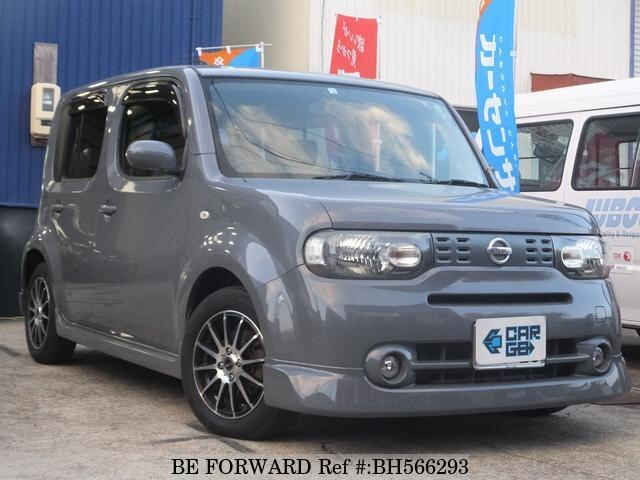 Used 2012 NISSAN CUBE BH566293 for Sale