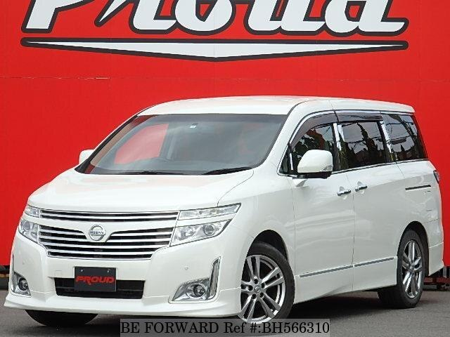 Used 2010 NISSAN ELGRAND BH566310 for Sale