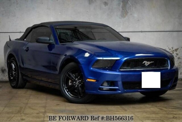 Used 2013 FORD MUSTANG BH566316 for Sale