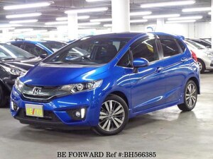 Used 2014 HONDA FIT HYBRID BH566385 for Sale