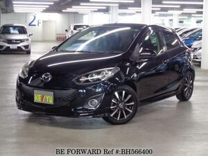 Used 2014 MAZDA DEMIO BH566400 for Sale