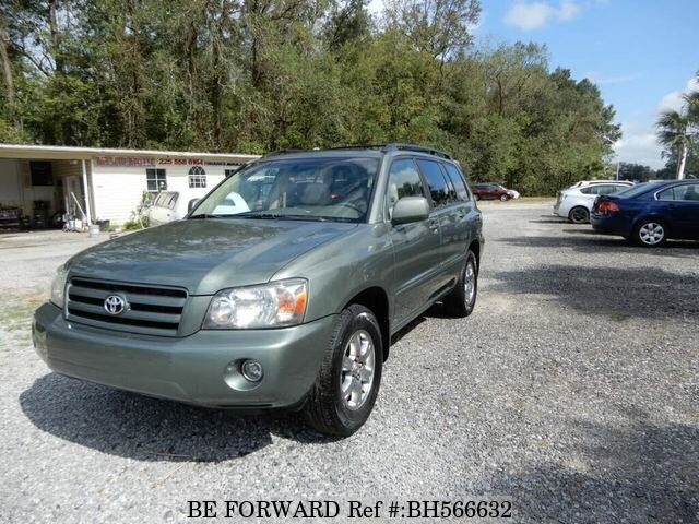 Used 2007 TOYOTA HIGHLANDER BH566632 for Sale