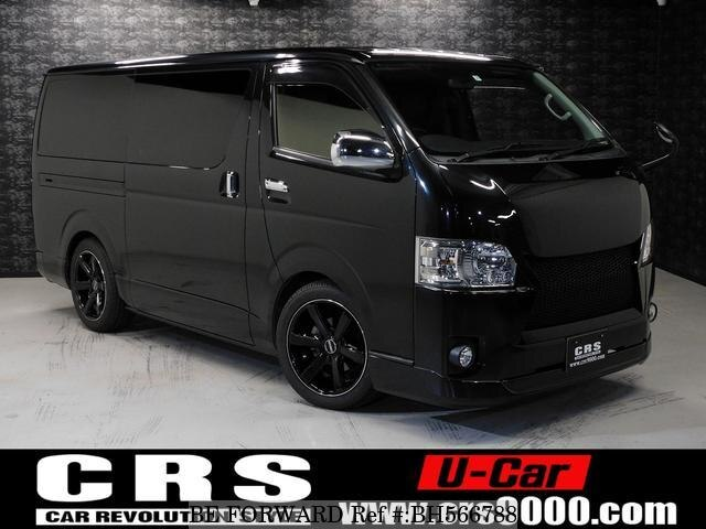 Used 2015 TOYOTA HIACE VAN BH566788 for Sale
