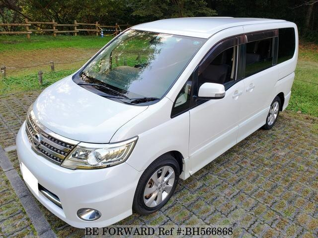 Used 2007 NISSAN SERENA BH566868 for Sale