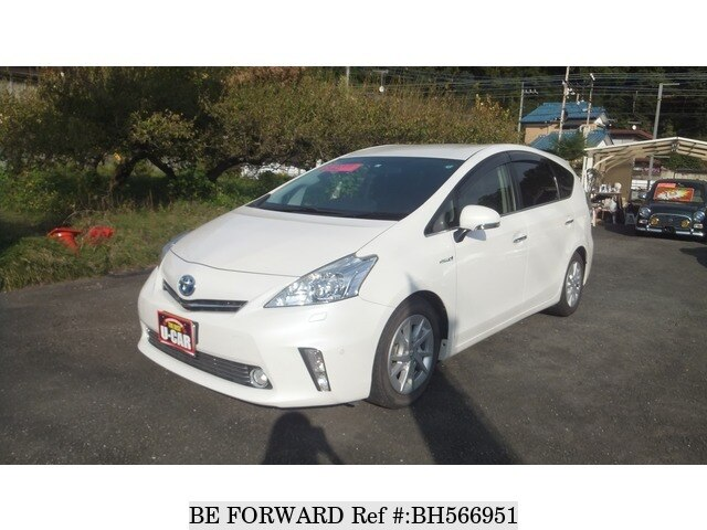 Used 2013 TOYOTA PRIUS ALPHA BH566951 for Sale