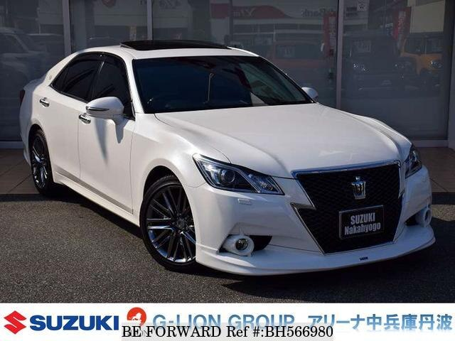 Used 2015 TOYOTA CROWN BH566980 for Sale