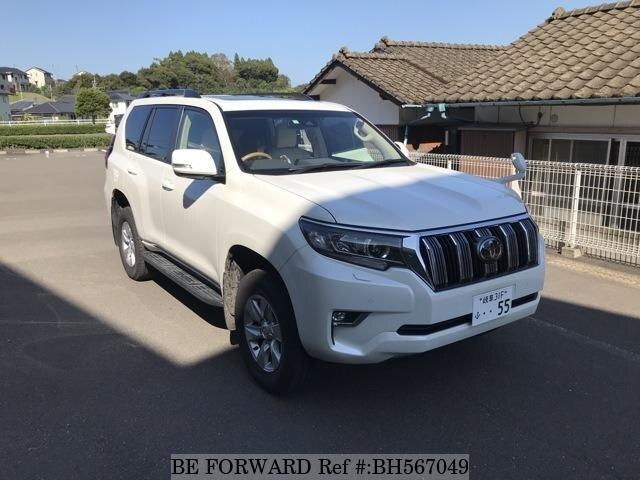 Used 2019 TOYOTA LAND CRUISER PRADO BH567049 for Sale