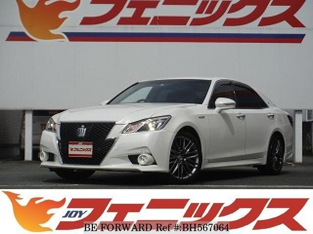 Used 2013 TOYOTA CROWN HYBRID BH567064 for Sale