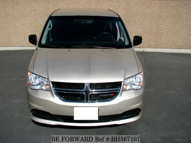 Used 2014 DODGE GRAND CARAVAN BH567107 for Sale