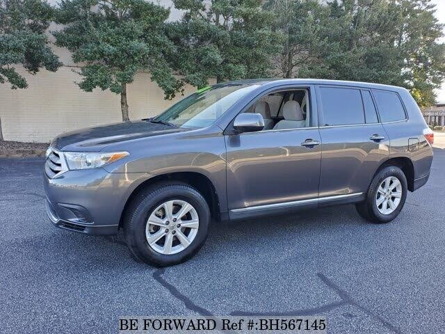 Used 2013 TOYOTA HIGHLANDER BH567145 for Sale