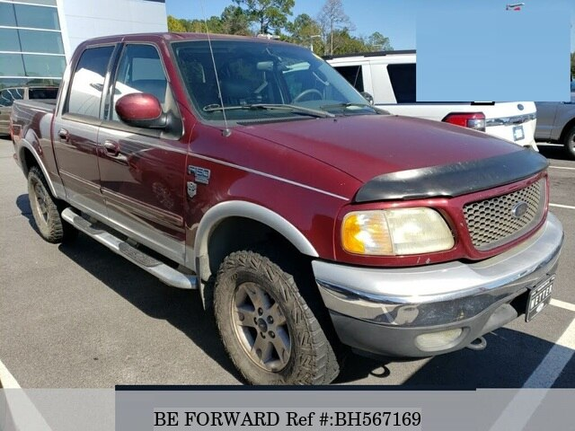 Used 2003 FORD F150 BH567169 for Sale