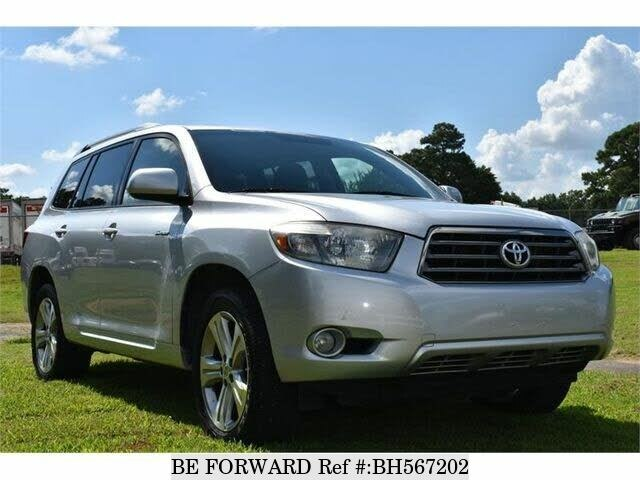 Used 2008 TOYOTA HIGHLANDER BH567202 for Sale