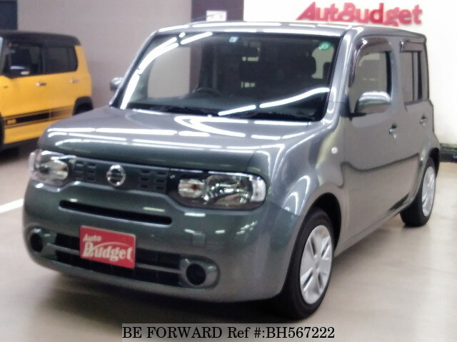 Used 2011 NISSAN CUBE BH567222 for Sale