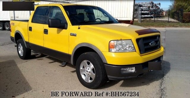 Used 2004 FORD F150 BH567234 for Sale
