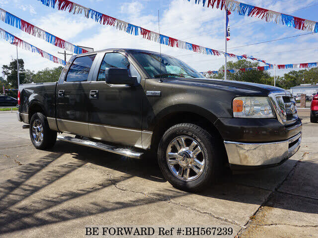 Used 2008 FORD F150 BH567239 for Sale