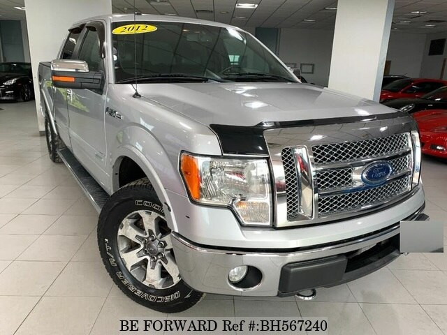 Used 2012 FORD F150 BH567240 for Sale
