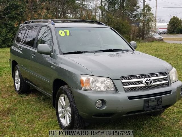 Used 2007 TOYOTA HIGHLANDER BH567252 for Sale