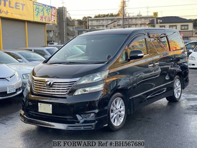 Used 2009 TOYOTA VELLFIRE BH567680 for Sale