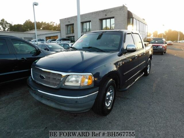 Used 2002 FORD F150 BH567755 for Sale