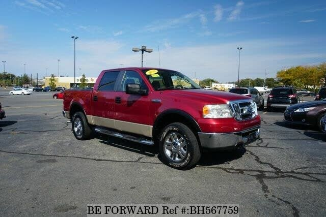 Used 2008 FORD F150 BH567759 for Sale
