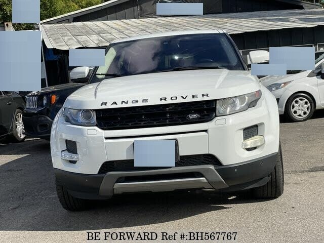 Used 2012 LAND ROVER RANGE ROVER EVOQUE BH567767 for Sale