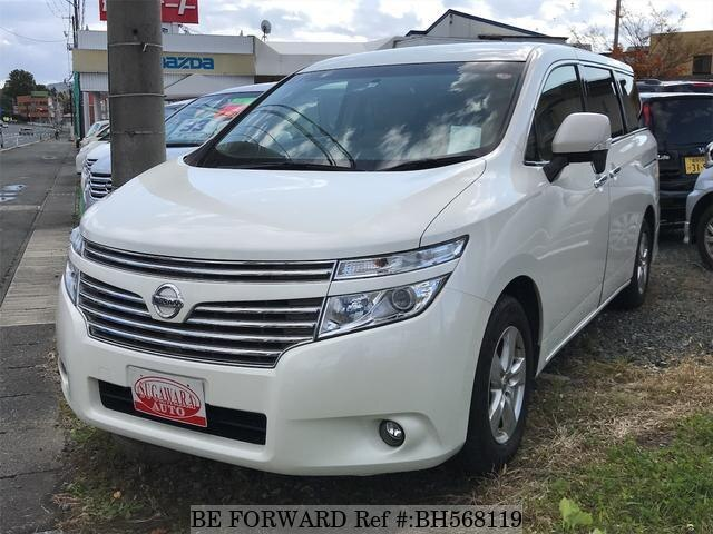 Used 2015 NISSAN ELGRAND BH568119 for Sale
