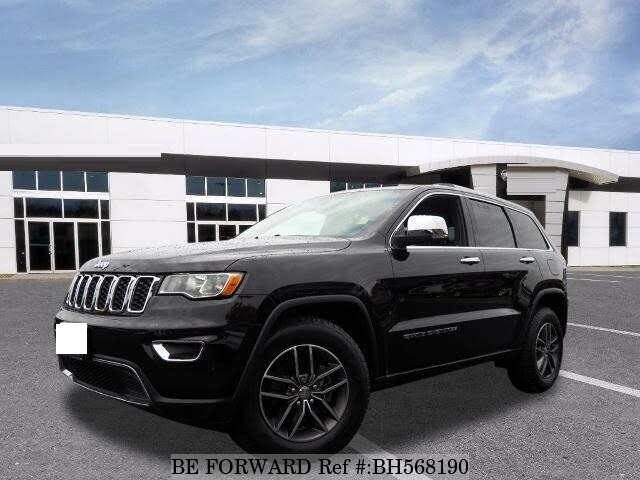 Used 2017 JEEP GRAND CHEROKEE BH568190 for Sale