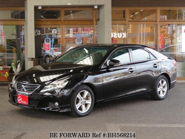 Used 2012 TOYOTA MARK X BH568214 for Sale