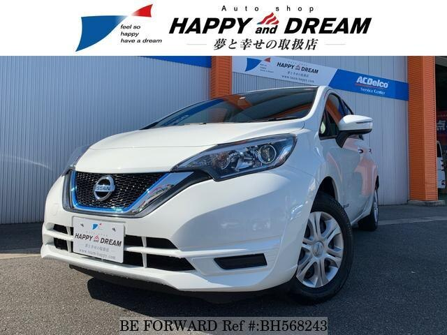 Used 2018 NISSAN NOTE BH568243 for Sale