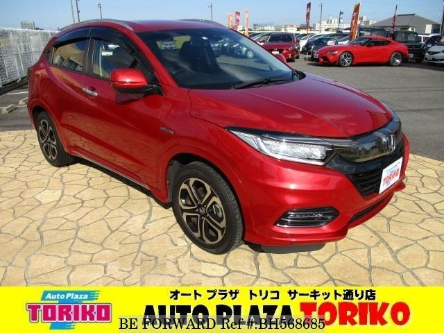 Used 2018 HONDA VEZEL BH568685 for Sale