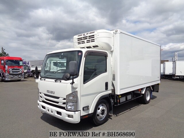 Used 2015 ISUZU ELF VAN BH568690 for Sale