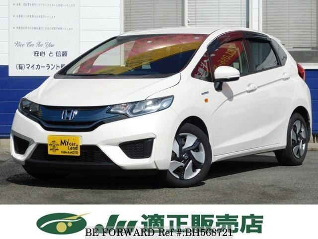 Used 2013 HONDA FIT HYBRID BH568721 for Sale