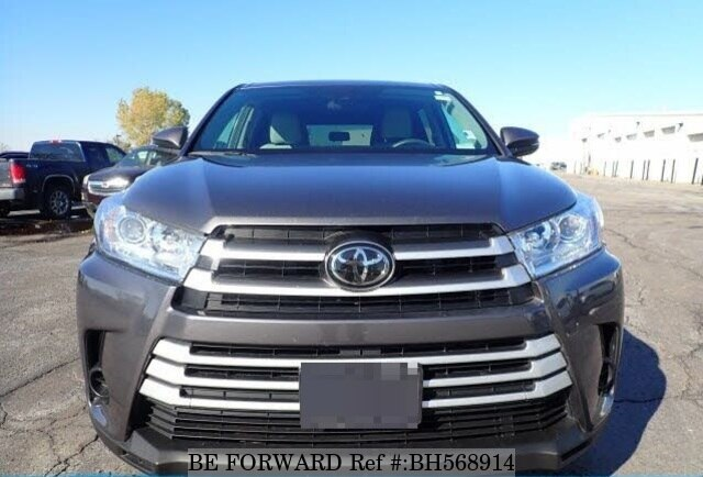 Used 2019 TOYOTA HIGHLANDER BH568914 for Sale