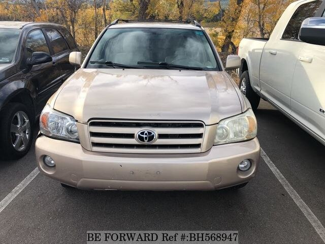 Used 2007 TOYOTA HIGHLANDER BH568947 for Sale