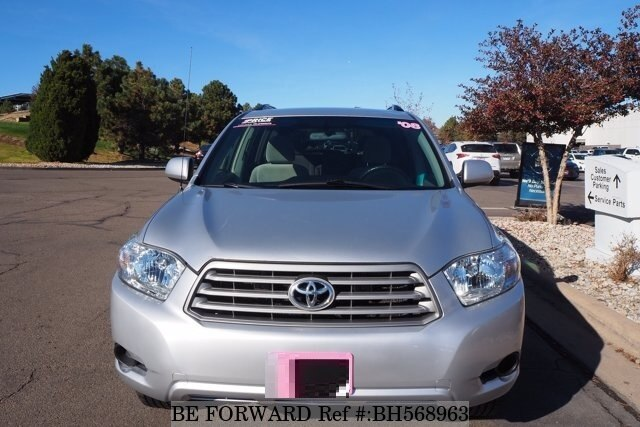 Used 2008 TOYOTA HIGHLANDER BH568963 for Sale