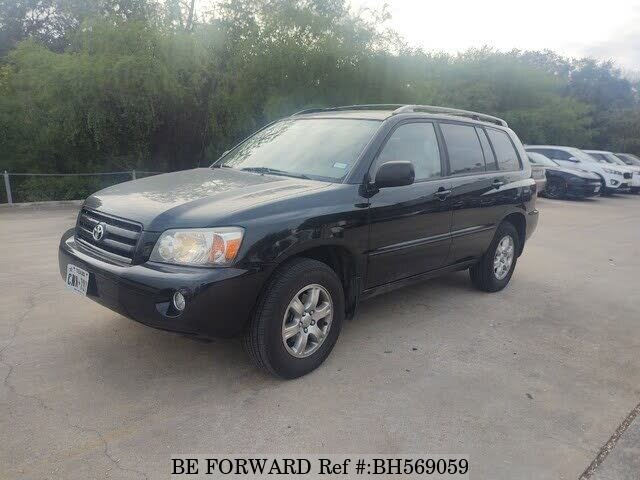 Used 2005 TOYOTA HIGHLANDER BH569059 for Sale