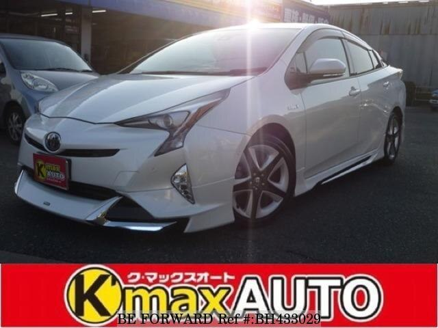 Used 2017 TOYOTA PRIUS BH433029 for Sale