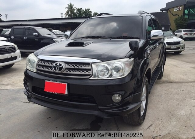Used 2010 TOYOTA FORTUNER BH489225 for Sale