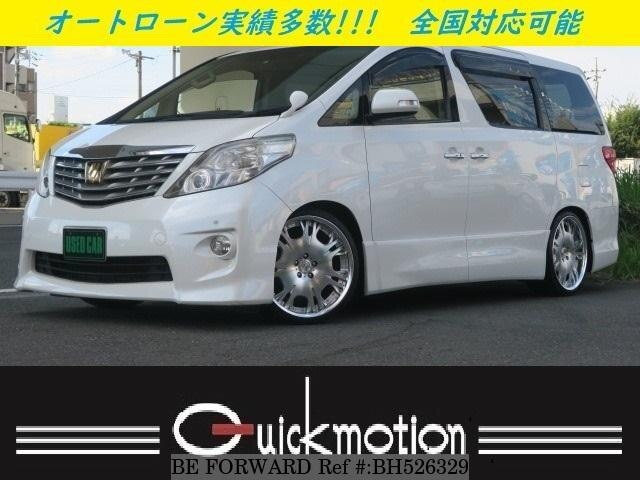 Used 2009 TOYOTA ALPHARD BH526329 for Sale