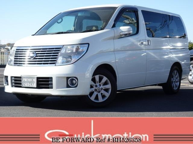 Used 2005 NISSAN ELGRAND BH526358 for Sale