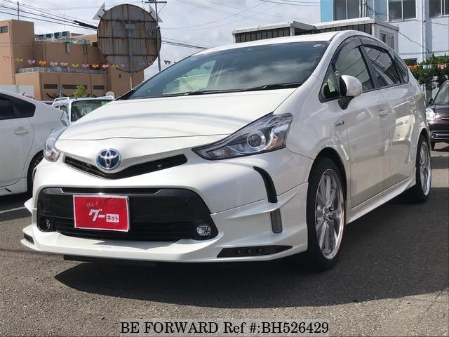 Used 2015 TOYOTA PRIUS ALPHA BH526429 for Sale