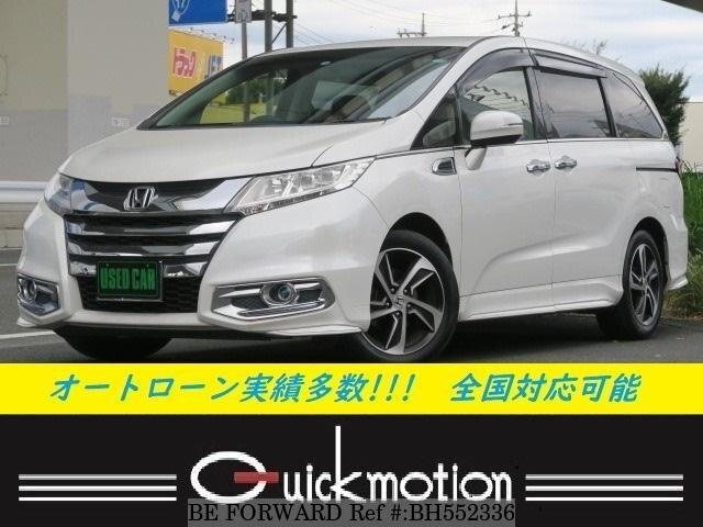 Used 2014 HONDA ODYSSEY BH552336 for Sale